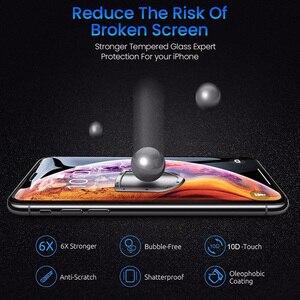 Image 3 - 10D Beschermende Glas Op De Voor Apple Iphone Xs Xr X 11 Pro Max Screen Protector Voor Iphone 6 6s 7 8 Plus 9H Gehard Tremp Film