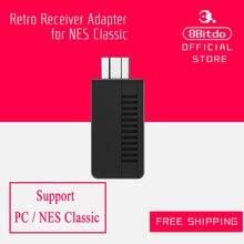 8 bitdo Ретро приемник для мини-NES classic edition (Bluetooth) Адаптер Поддержка PS4/PS3/Wii mote геймпад все 8bitdo contrller