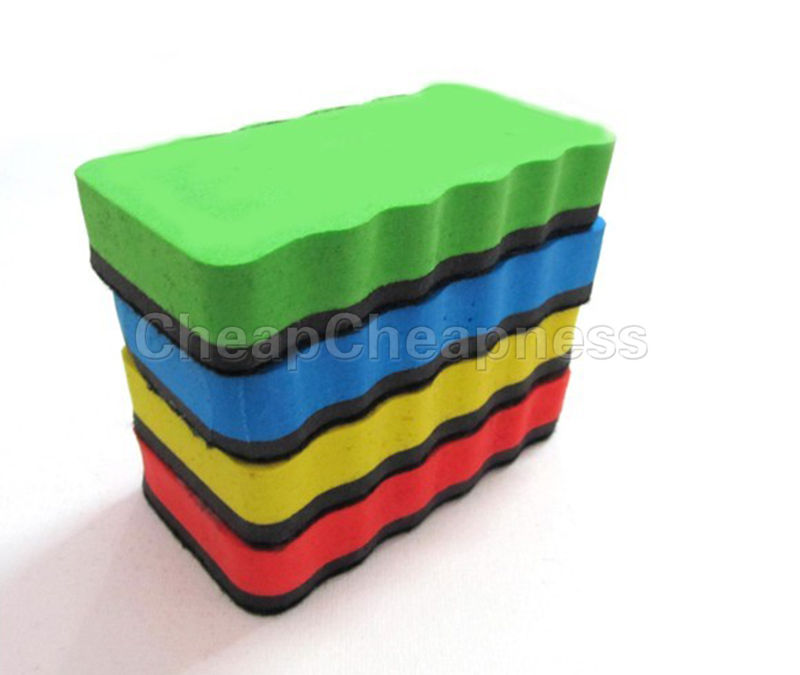1Pcs Eraser Drywipe Marker Cleaner Magnetic Board School Office Whiteboard Wholesale