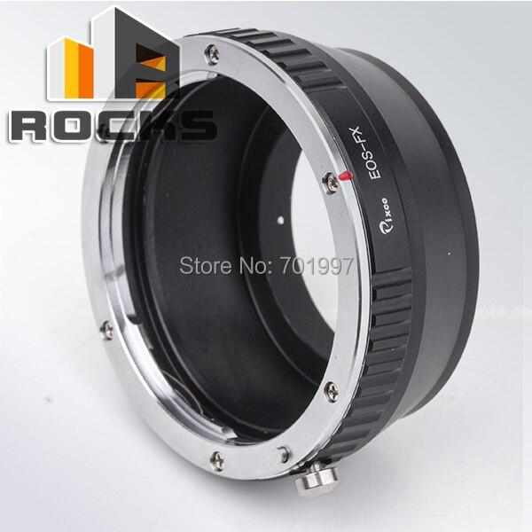 Adaptador de lente pixco trabalhar para filme canon ef montagem da lente para fujifilm fuji x-pro1 fx x-e1-e2 x x x-m1-a1 camera