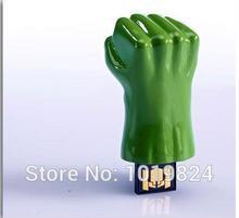 Super Saturday 2017   Sale 100% real capacity iron man hand usb flash drive full Iron man/American shield/Hulk hand/Thor hammer Pen Drive S66