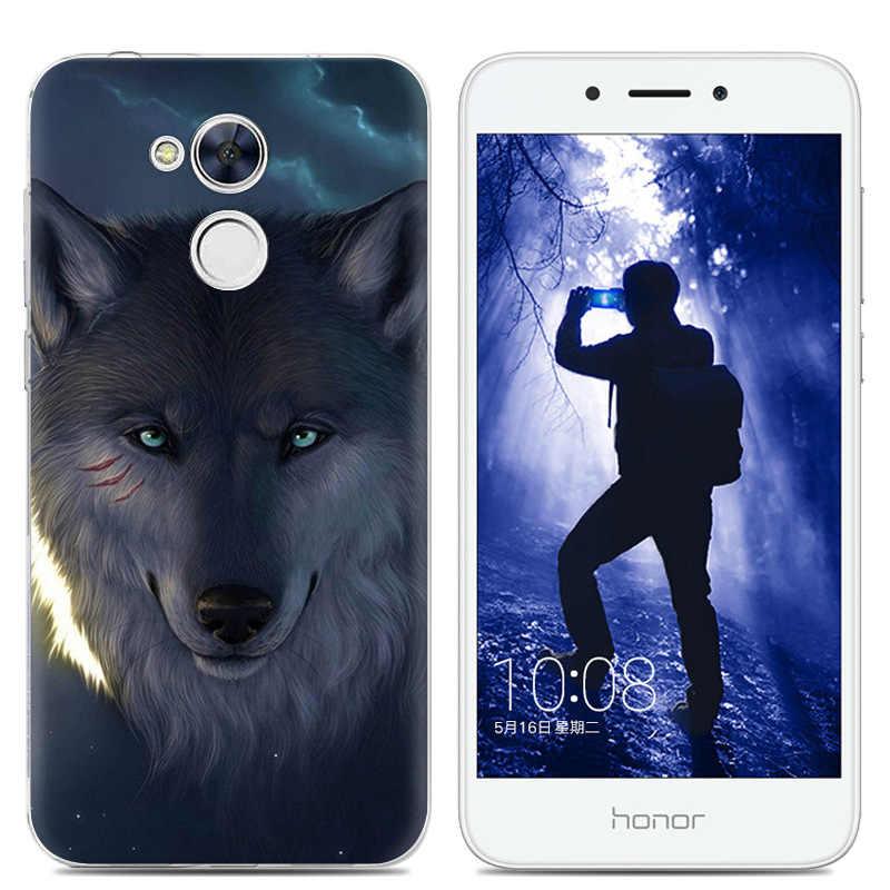 B милый собачий силиконовый чехол для Huawei Honor 6C DIG-L21HN животных мягкие термополиуретановые Чехлы для Huawei NOVA Smart Cover DIG-L03 для девочек