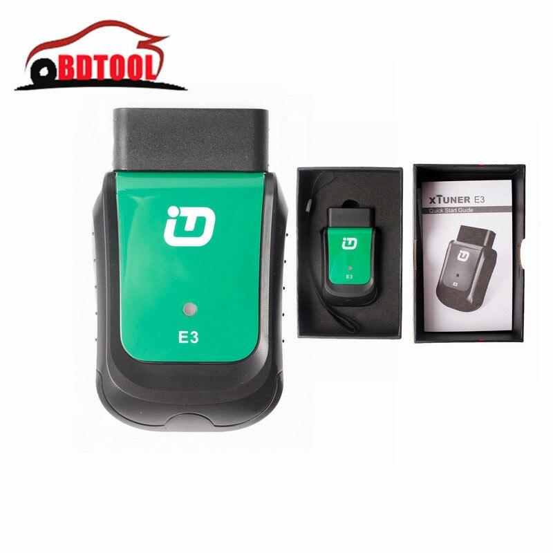 US $137 0 |ECU Programmer XTUNER E3 OBDII Wifi XTUNER E3 Full System Car  Diagnostic Tool XTUNER E3 for Multi Brand Car Scanner-in Car Diagnostic
