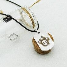 New Arrives 2 styles BLEACH Logo Unisex Necklace Titanium steel Pendant Never Fade