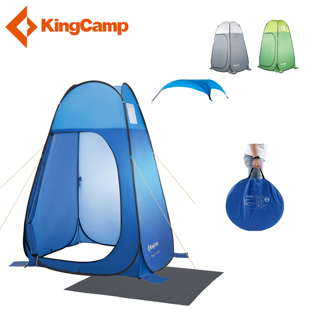 KingCamp Portable Toilet Tent Collapsible Shower Tent Portable Changing  Room Outdoor Beach Shower Tent Bathroom Pop Up Tent -in Tents from Sports &  ...