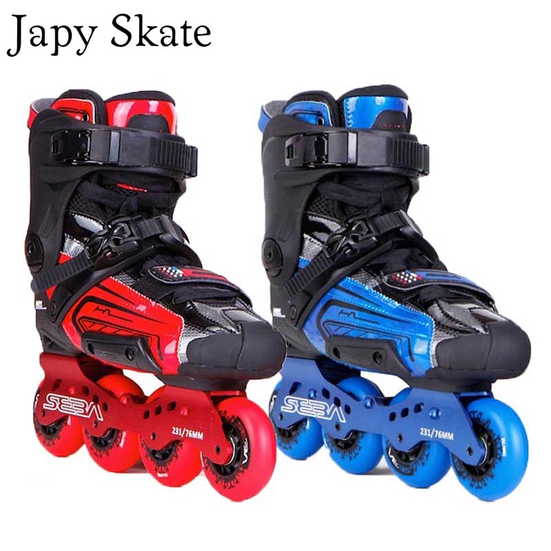 Patin Japy Original SEBA HL 10th SEBA haute lumière adulte patins à roues alignées chaussures Slalom Slide FSK Patines Adulto