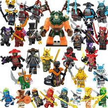 Одиночная, фигурки Marvel, ниндзя, блоки, Nya Jay Zane и Kai Cole Harumi Samurai X, фигурки, игрушки для детей