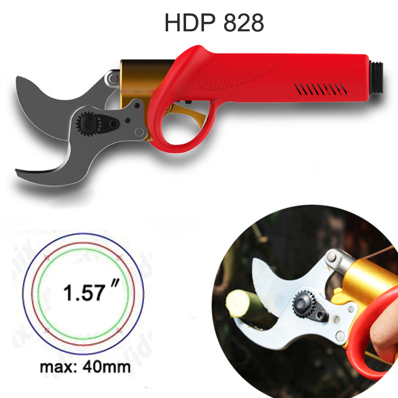 HDP828 40mm electric pruning shears, CE pruner (8-10 hours lasting)HDP828 40mm electric pruning shears, CE pruner (8-10 hours lasting)