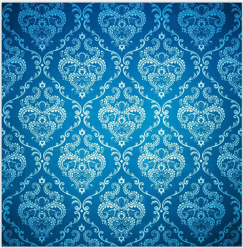 7x10 FT Vinyl Photography Background Backdrops,Damask Motifs with Royal Renaissance Style Baroque Details Classical Design Background for Graduation Prom Dance Decor Photo Booth Studio Prop Banner