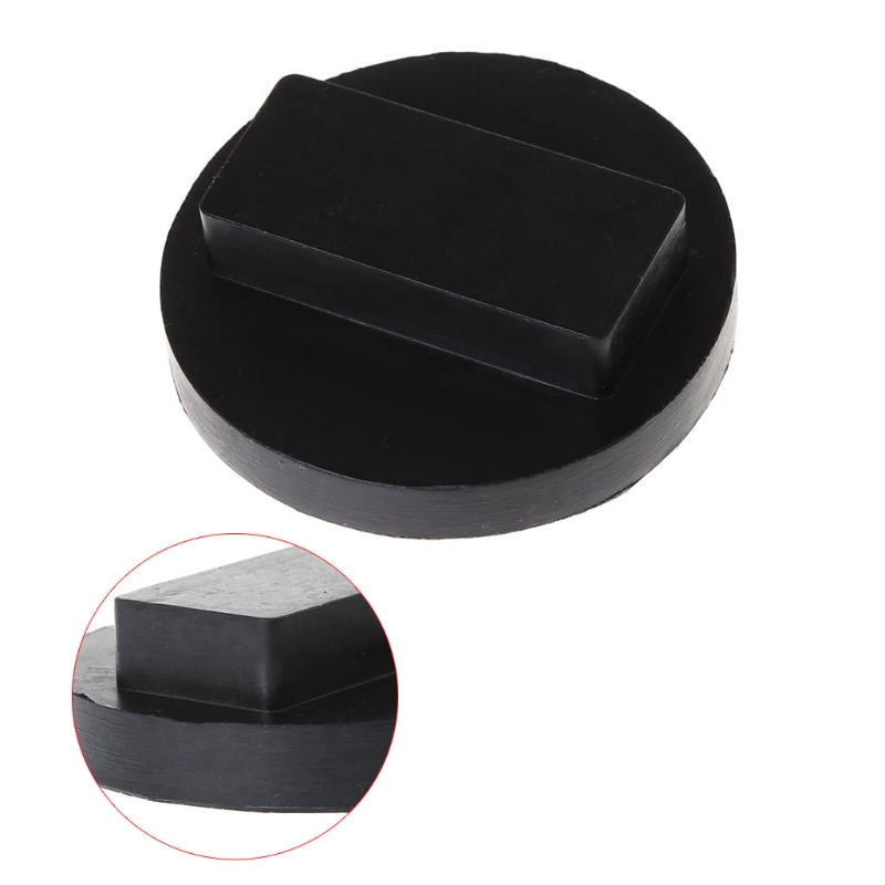 Black Car Rubber Jack Pads Tool Jacking Pad Adapter For BMW Mini R50/52/53/55 #1 Car Accessories