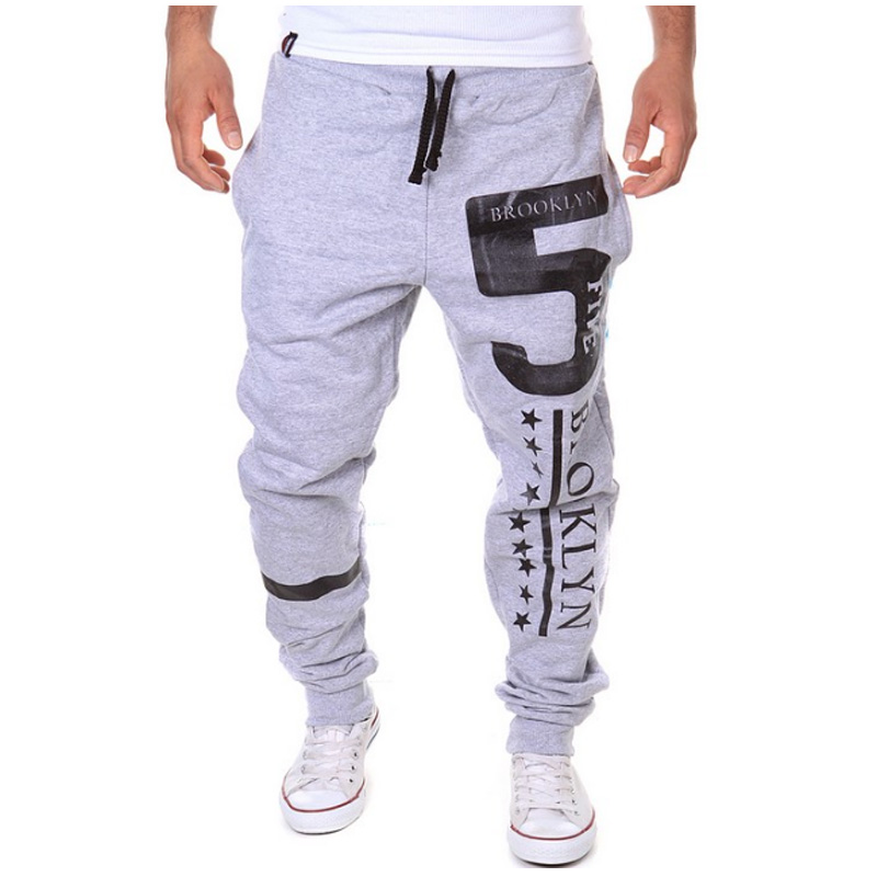 Man Trousers Mens Joggers Designer Casual-Pants Elasticity New-Fashion XXL Slim Brand