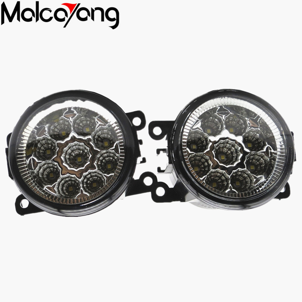 2 Pcs/Set Car-styling 6000K CCC 12V 55W DRL Fog Lamps Lighting For Renault MEGANE 2 estate 2002-2015 35500-63J02