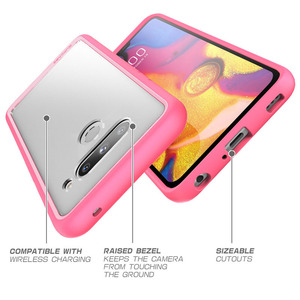 Image 5 - Voor Lg V40 Thinq Case Supcase Ub Stijl Premium Hybrid Beschermende Tpu Bumper + Clear Cover Case Voor Lg v40 Caso