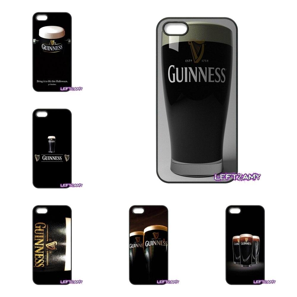 For Xiaomi Redmi Note 2 3 3S 4 Pro Mi3 Mi4i Mi4C Mi5S MAX Guinness Beer Print Logo Cell Phone Case Cover guinness
