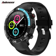 ASKMEER H8 Smart watch bracelet band 5 million camera IP68 waterproof 4G Internet call GPS navigation smartwatch for Android ios(China)
