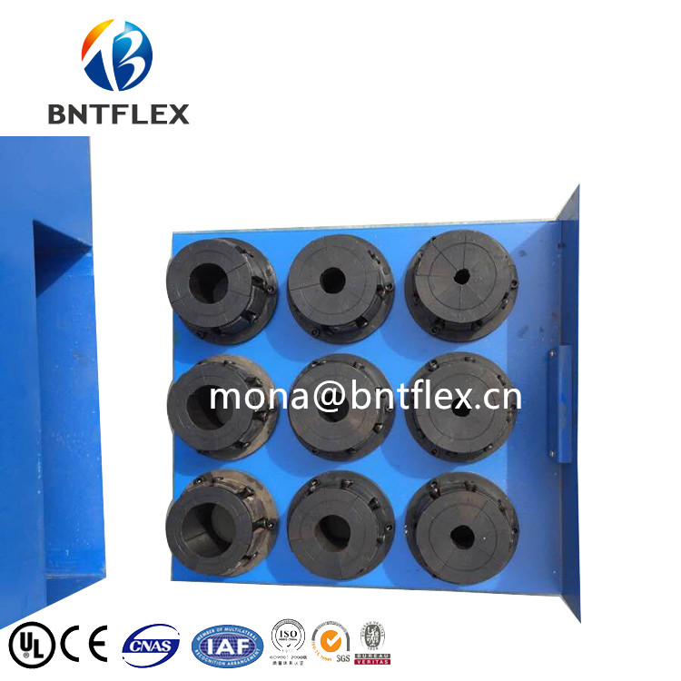 China Automatic 2 inch hydraulic press for rubber with 10 dies for free in Hydraulic Tools from Tools