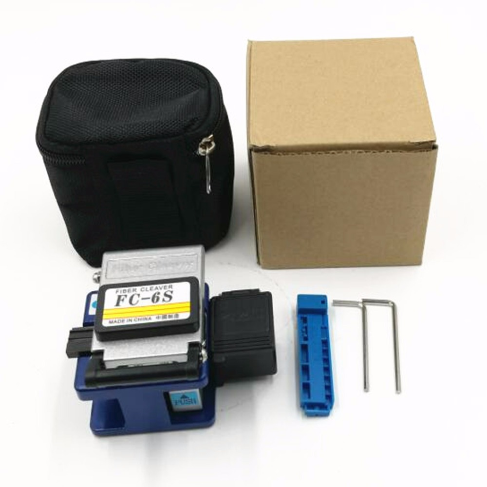 High Quality Metal Case Optical Fiber Cleaver FC-6S Fiber Cleaver With Garbage Box