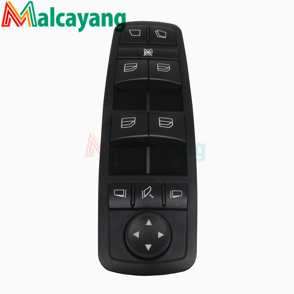 NEW Black Drivers Window Mirror Master Switch For Mercedes Benz GL R Class A2518300390 2518300390 A251