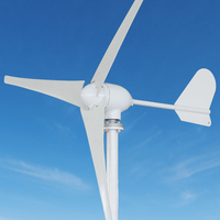 400w 12v dc small wind generator + hybrid controller with optional 100w solar capacity for sale