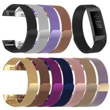 купить Stainless Steel Magnetic Milanese Loop Band for Fitbit Charge 3 Band Replacement Wristband Strap for Smart Watch Fitbit Charge 3 по цене 373.85 рублей
