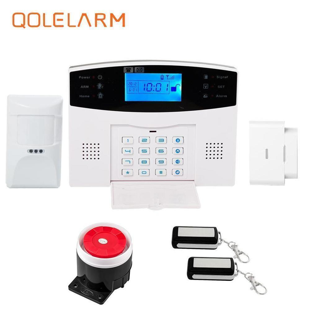 11 languages voice announcement system Wireless SMS auto dial digital smart gsm home alarm system an-ti pet device for fence