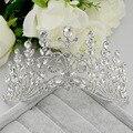 Королева корона свадебные аксессуары для волос тиара головной убор невесты роскоши Европейском стиле невесты корону