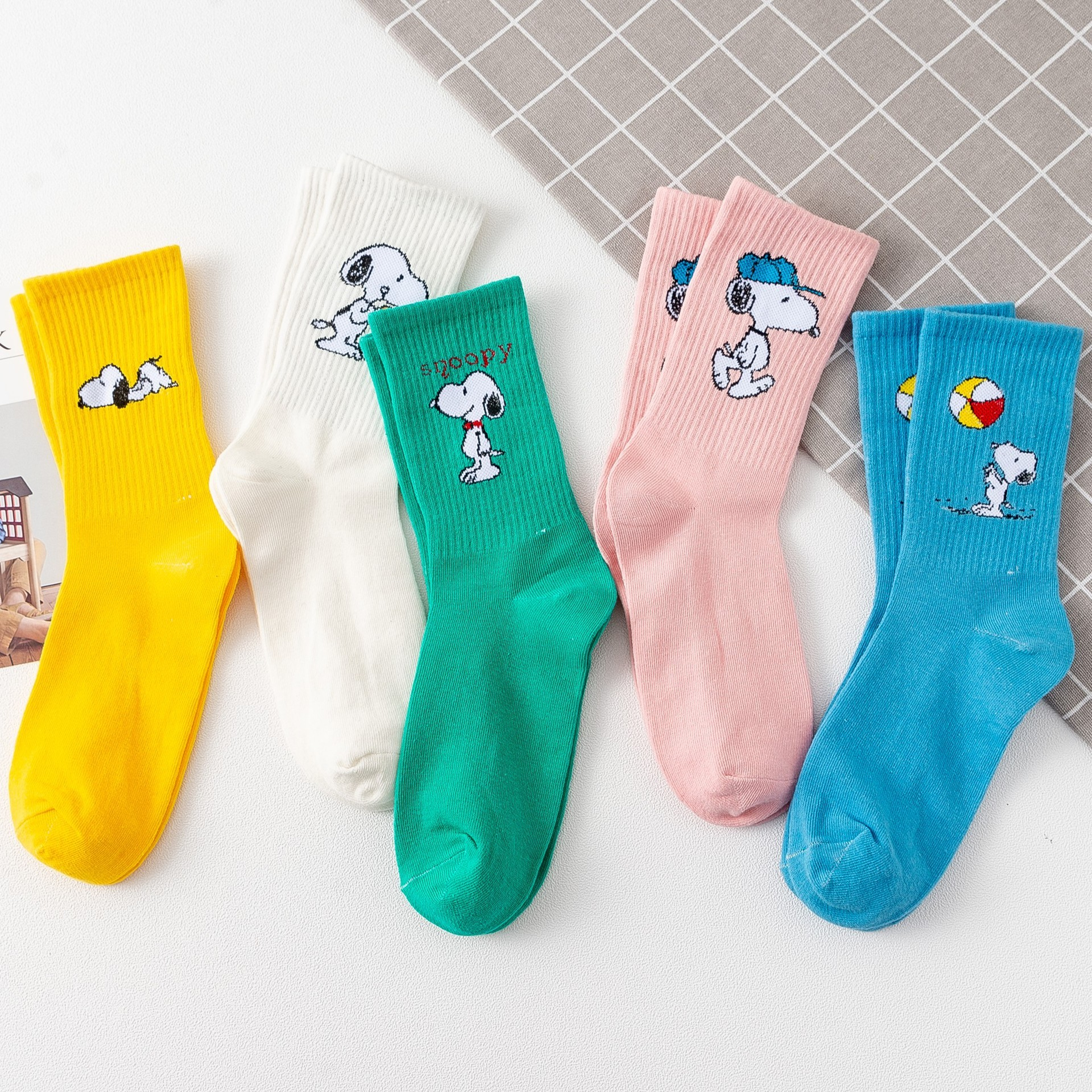 New Arrival Japanese Harajuku Cute Cartoon Socks Women Hosiery Men Long Socks Kawaii Anime Compression Socks Women Dog Socks