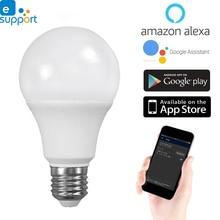 Timethinker Смарт светодиодное освещение Wi-Fi лампы приложение Ewelink 5,5 W E27 светодиодный лампы теплый холодный свет Dimmable Совместимость с Alexa Google Home
