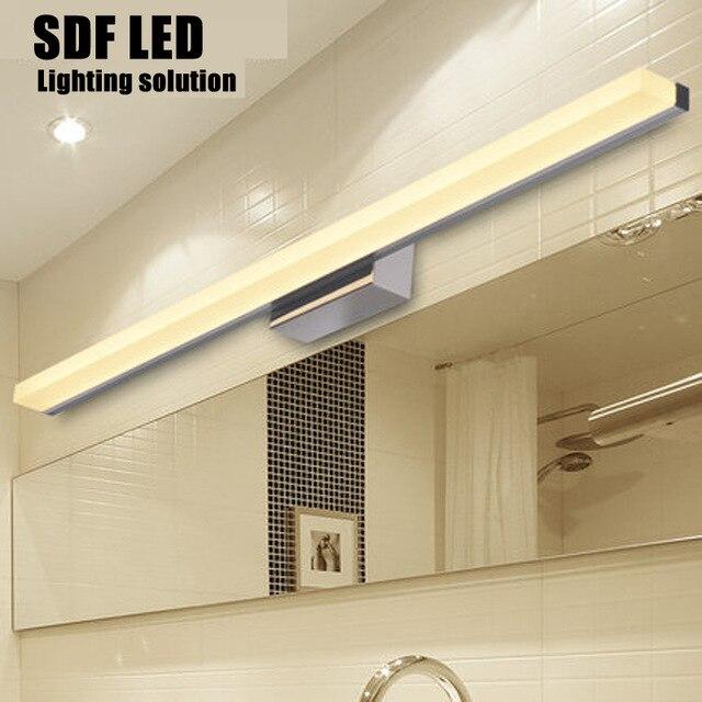 100CM bathroom mirror wall light ED Modern Acrylic Wall Lamp Bathroom Mirror Light  Stainless Wall Light Factory 110V 220V