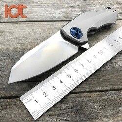 LDT 0456 Folding Messer CTS 204 P Klinge Titan Griff Kugellager Jagdmesser Im Freien Taktische Camping Tasche Messer EDC werkzeug