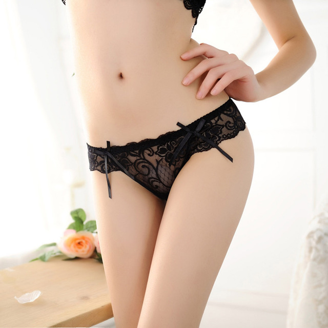 Women Sexy Lace Thong Panties Underwear