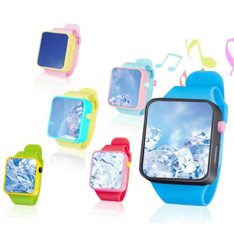 Kids Toys Watch Children Smart Clock 3D Touch Screen Wristwatches Early Educational Toy Adjustable Smart Watch Easy Operation