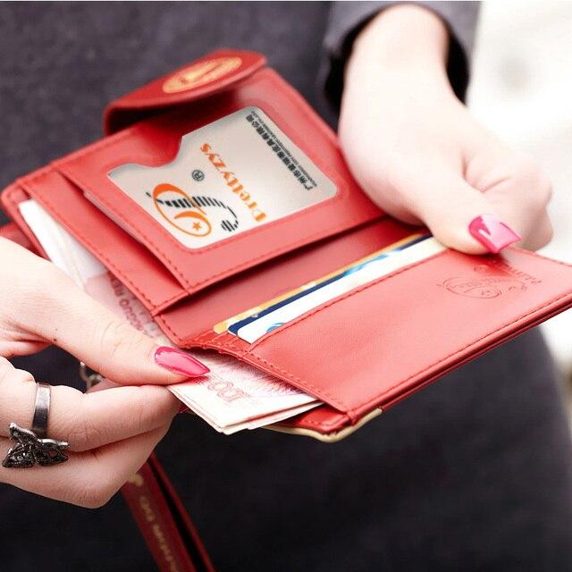 Cute Mickey Women's Wallets