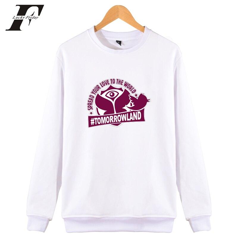 LUCKYFRIDAYF TomorrowLand Electronic music festival moletom Men/Women streetwear winter Hoodies Sweatshirts Pullovers plus size