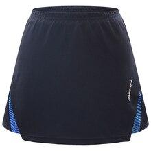 Черная Женская юбка для ракеток для бадминтона и тенниса, юбка-брюки для болельщиков, Одежда для танцев, Спортивная юбка-брюки, юбки для девочек