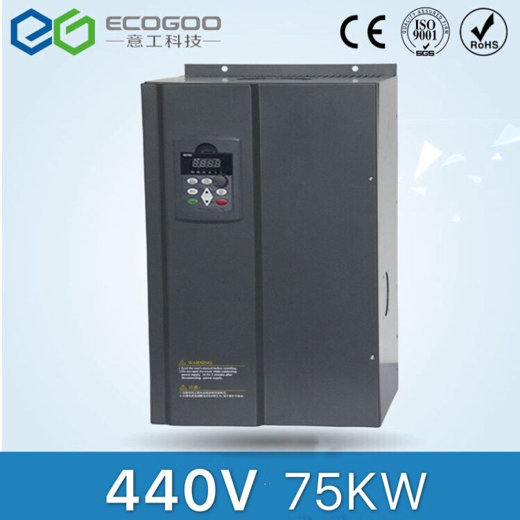 цена на 440V 75KW Frequency Inverter-Free Shipping- vector control Frequency inverter 75KW/ Vfd vector 75KW