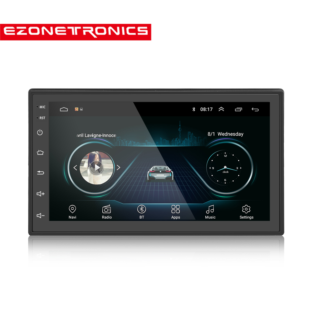 "Android Car 2 Din 6.0 GPS Navigation Car Radio Car Stereo 7""1024*600 Universal Wifi Bluetooth USB Audio Player(No DVD)"
