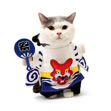 Costume for Cat Cute Clothes Ropa Para Gatos De Navidad Disfraces Para Mascotas Chihuahua Sweaters Fashion All Seasons 50MYF007(China)