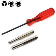 1 Set  New For NES N64 Gameboy 3.8mm + 4.5mm Security Bit + Triwing Screwdriver SA612