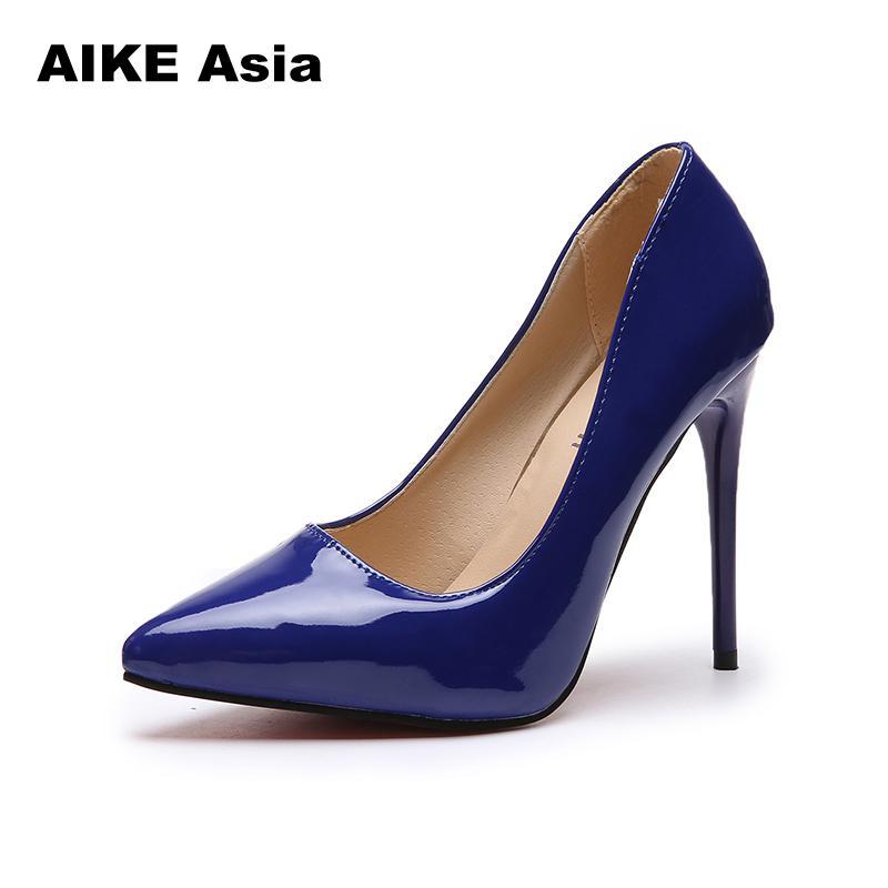6648675e3843 Brand Size 35-44 Shoes Woman High Heels Ladies Shoes 11CM Heels Pumps Women  Shoes