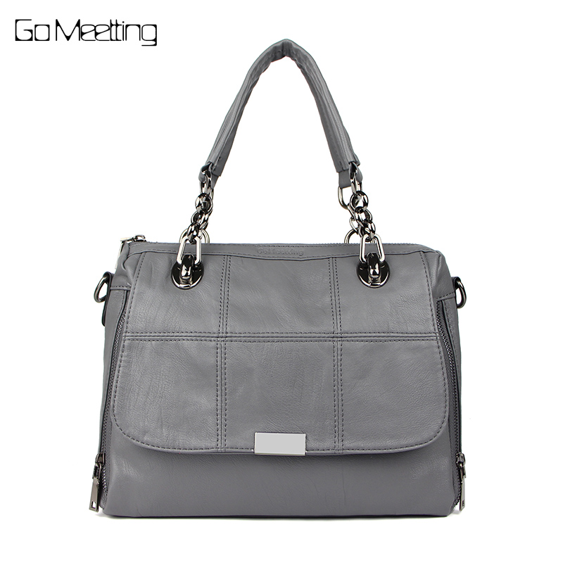 Go Meetting Brand Fashion Women Handbag High Quality PU Leather Woman Crossbody Shoulder Bags Tote Bag Bolsas femininas Female 2017 woman bag fashion designers famous brand bolsas femininas casual bag v metal tote leather bag lady crossbody shoulder bags