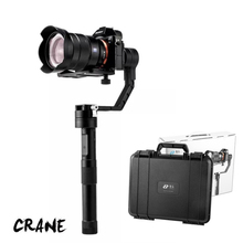 Zhiyun Crane 3 axis Handheld Stabilizer gimbal+ Remote for DSLR Canon SONY A7 Panasonic Cameras Load 1800 wholesale