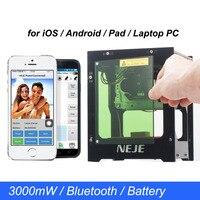NEJE DK BL 3000 МВт 445нм лазерная гравировальная машина DIY USB Bluetooth мини лазерный гравер с ЧПУ деревообрабатывающий прибор для телефона/ноутбука