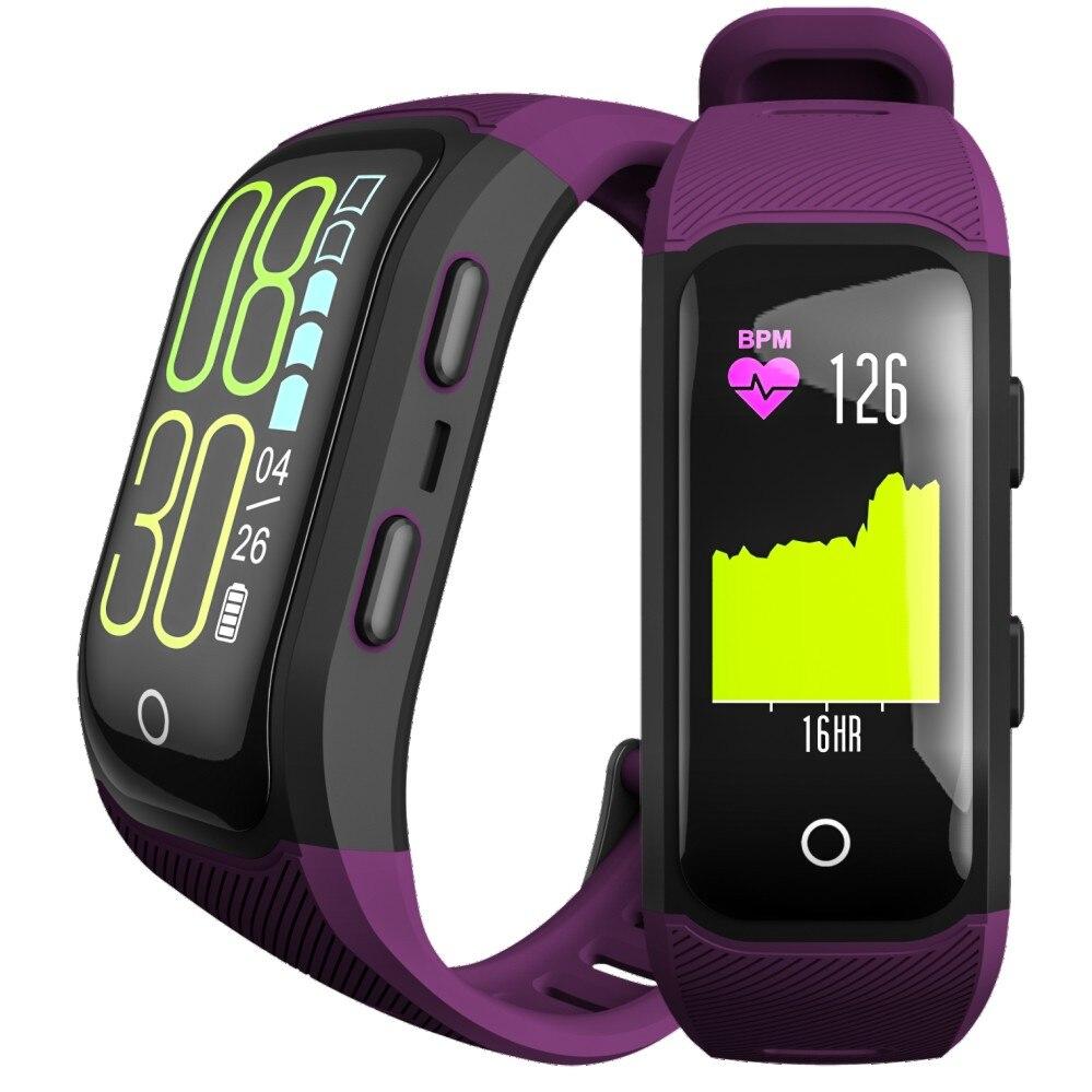 S908S activité Fitness Tracker bande intelligente IP68 étanche GPS moniteur de fréquence cardiaque Sport Bracelet Bracelet montre intelligente