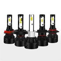 High Quality ZES Chips H7 Led Headlight Bulbs 12000LM Set H8 H9 H11 9005 9006 H4
