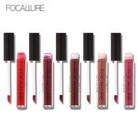 15colors Lot FOCALLURE 1Pc Matte Liquid Lipstick Hot Sexy Colors Lip Paint Matte Lipstick Waterproof Long