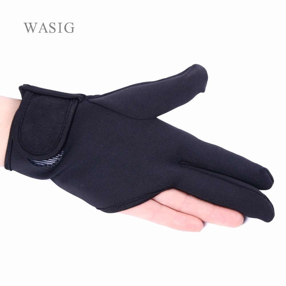 Black Heat Resistant Hairdressing Three Fingers Glove Hair Straightener Curling Hairdressing 3 Finger Gloves Hair Styling Tools