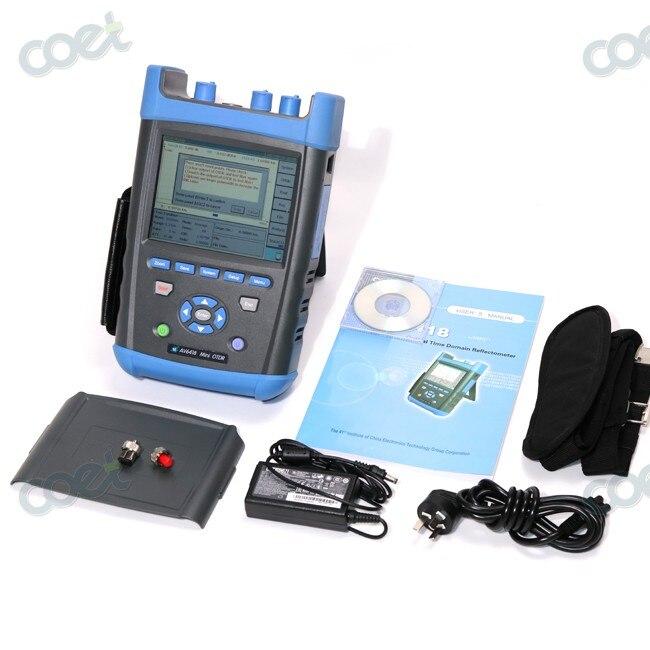 OTDR AV6418 1310/1550nm 45/43dB OTDR Tester Fiber Optic OTDR + Power meter  Free shiiping by fedexOTDR AV6418 1310/1550nm 45/43dB OTDR Tester Fiber Optic OTDR + Power meter  Free shiiping by fedex