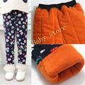 2-7Y baby girl winter pants girls leggings children pants kids thick warm elastic waist plus velvet leggings  Value Baby ZQ-11