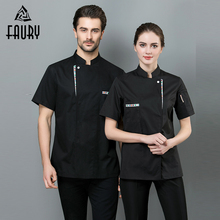 Shirts Restaurant-Uniforms Bakery-Costumes Chef-Clothes Cafe Barbershop Kitchen Cook